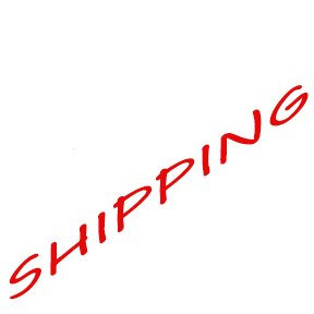 Shipping  only