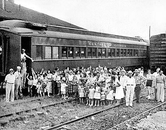 Last passenger train through Eatonton