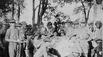 World War I before deployment