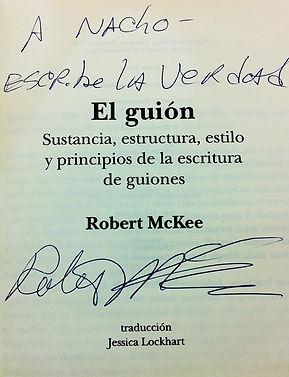 El Guión. De Robert McKee. Inspiración para Nacho Caballero. Libro más vendido en Amazon