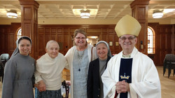 Mother's Day Mass with Bishop