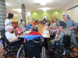 CMR Sisters at Nursing Home