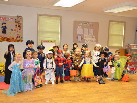 Queen of Angels Childcare & Learning Center: Happy Halloween 2019