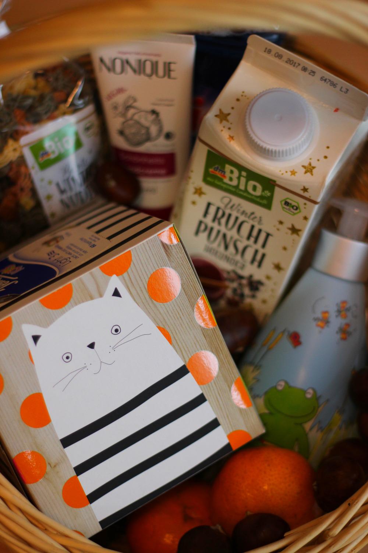 Geschenkekorb für Herbstgefühle