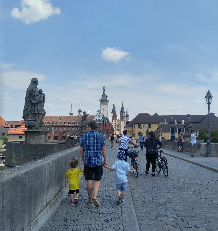 Würzburg, du schöne Stadt!