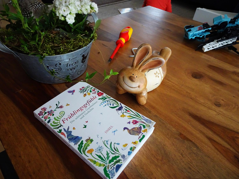 Buch mit Blumen, perfekt!