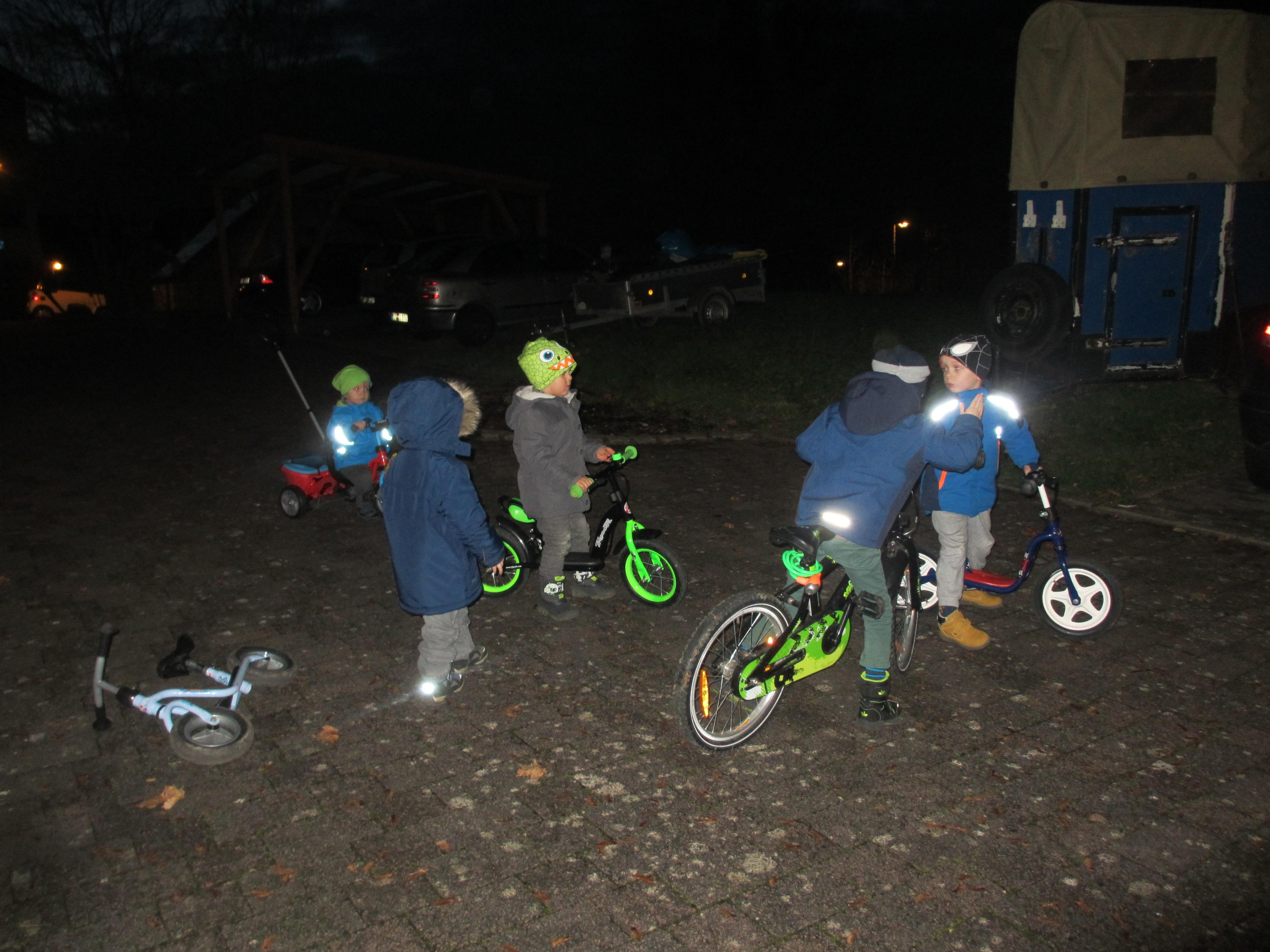 Die Rennradbande der Nachbarschaft