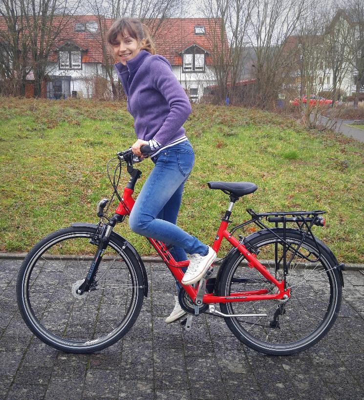 Mein Rad und ich...