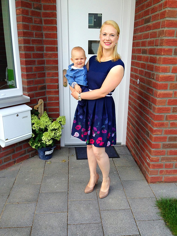 Alexandra und ihr süßer Sohn!