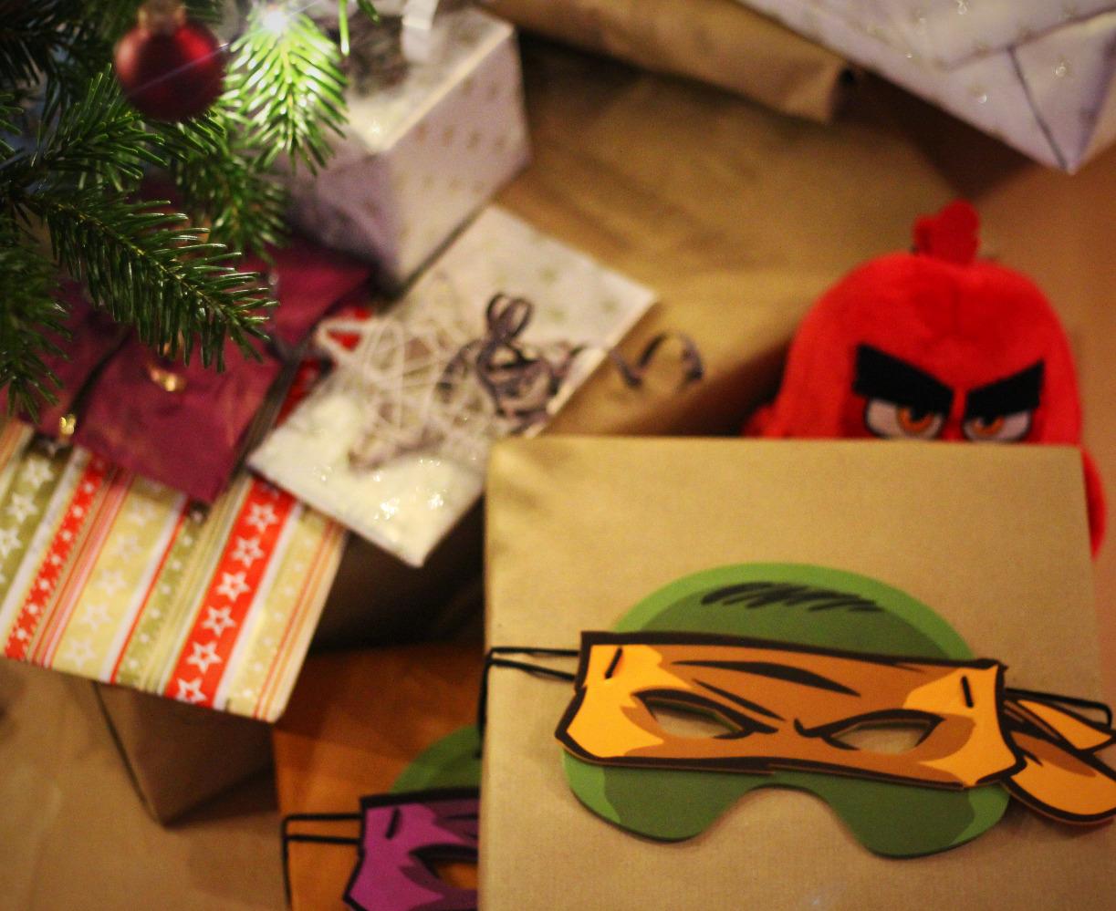 Geschenke schnell verpackt...