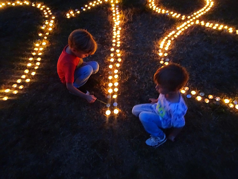 Kleine Kerze leuchte!
