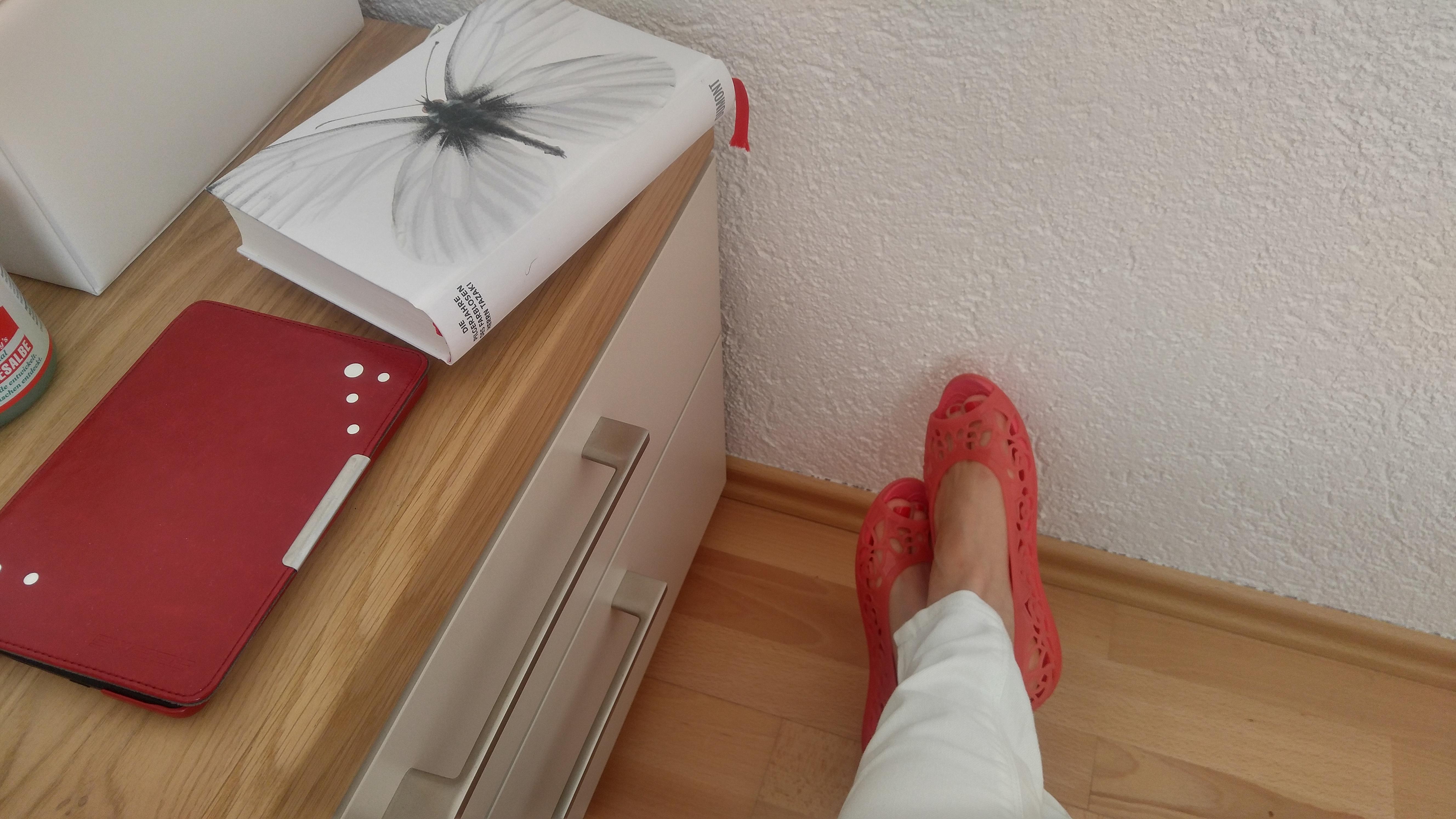 Endlich offene Schuhe!