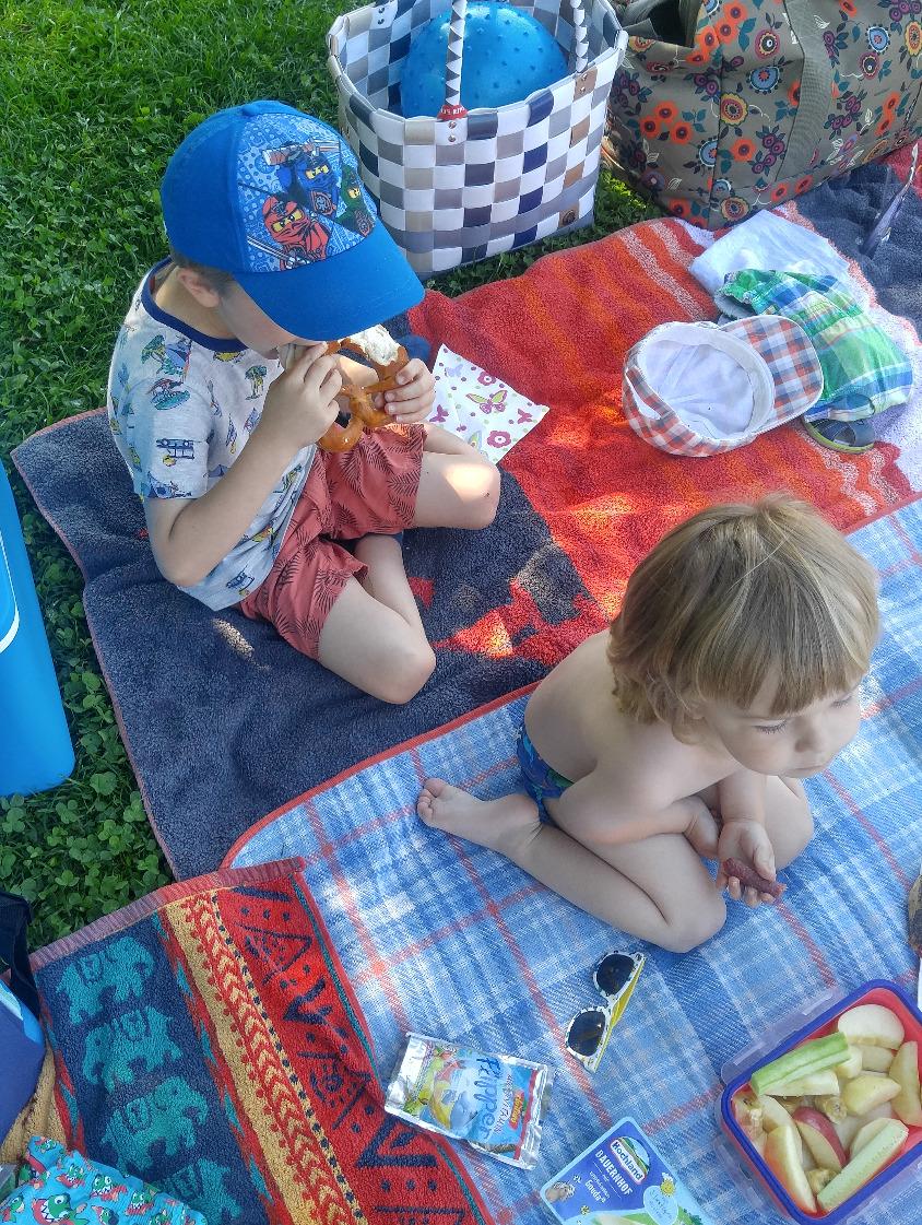 Picknick im Schatten