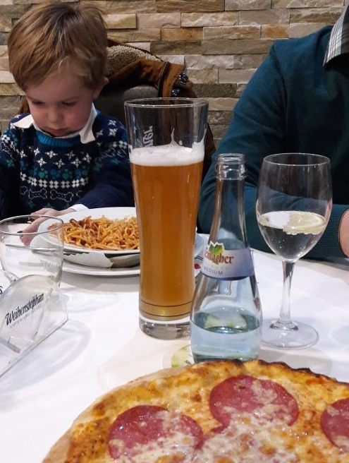 Geburtstagspizza