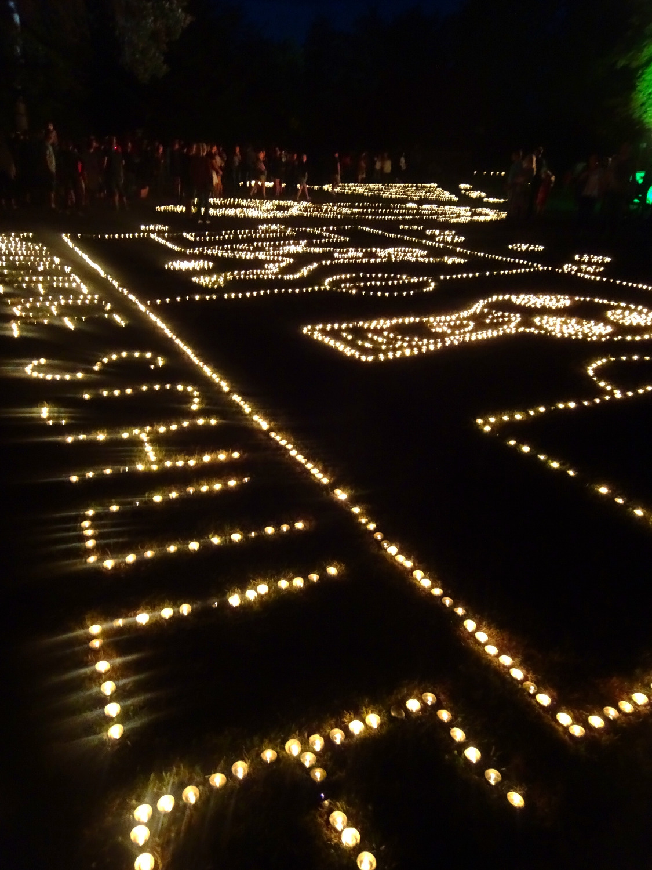 Vizemeister im Kerzenlegen