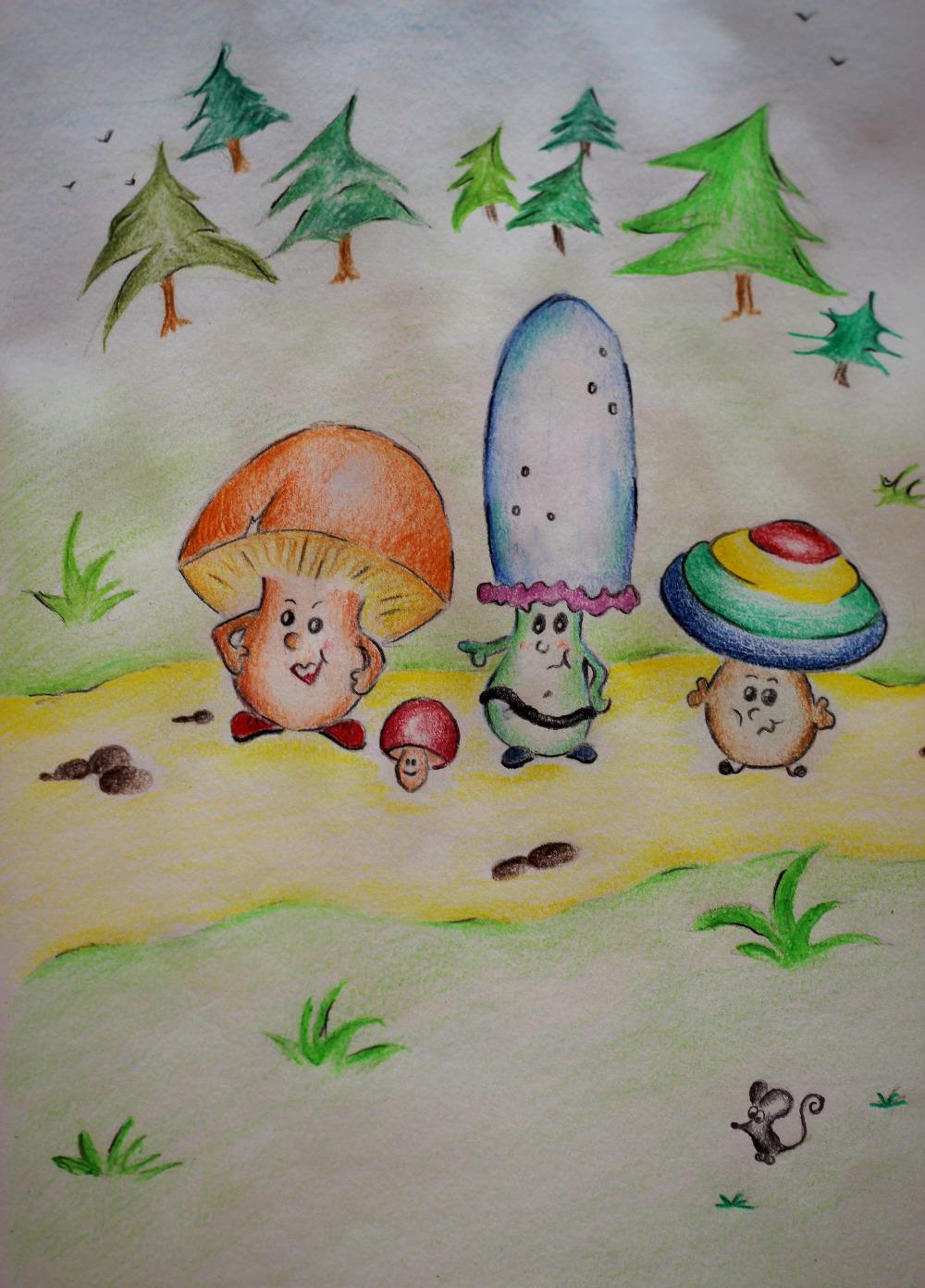 Die anderen Pilze.