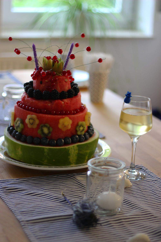 Geburtstagstorte!