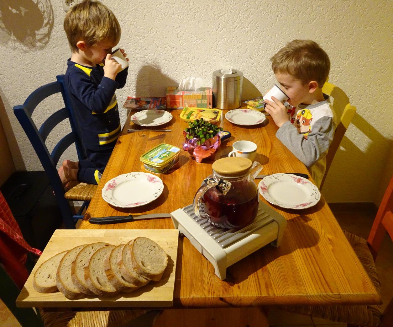 Silvesterfrühstück