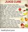 Immunity Building Juice Recipe and Juice Cures