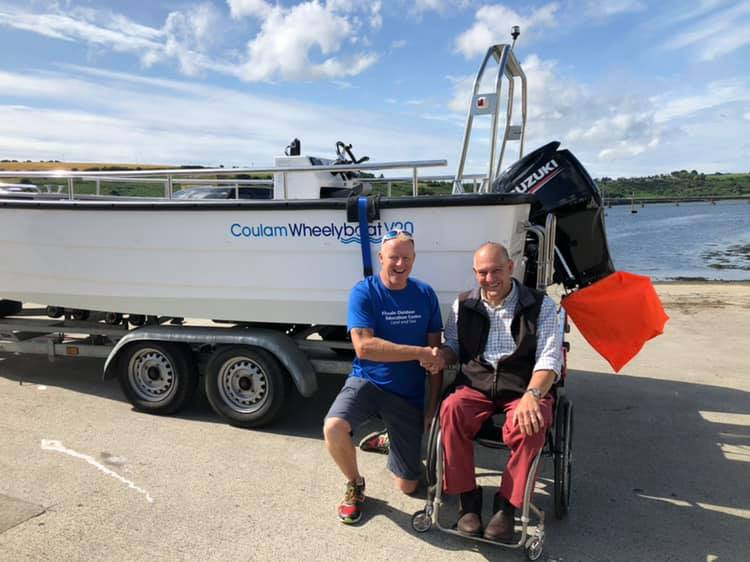 Andy Beadsley of the Wheelyboat Trust.jp