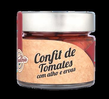 Confit de Tomates com Alho e Ervas