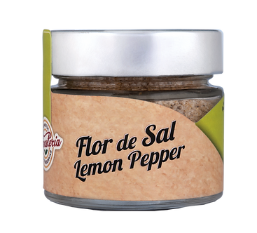 Flor de Sal Lemon Pepper