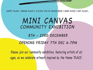 'Place' Community mini Canvas show