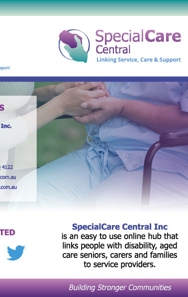 SpecialCare Central | Tri-Fold Flyer Side 1