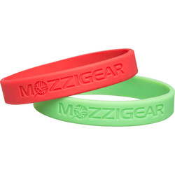 Mozzigear Adult Bands | Red & Green