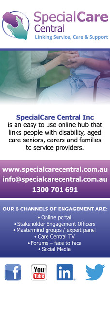 SpecialCare Central | Pull Up Banner