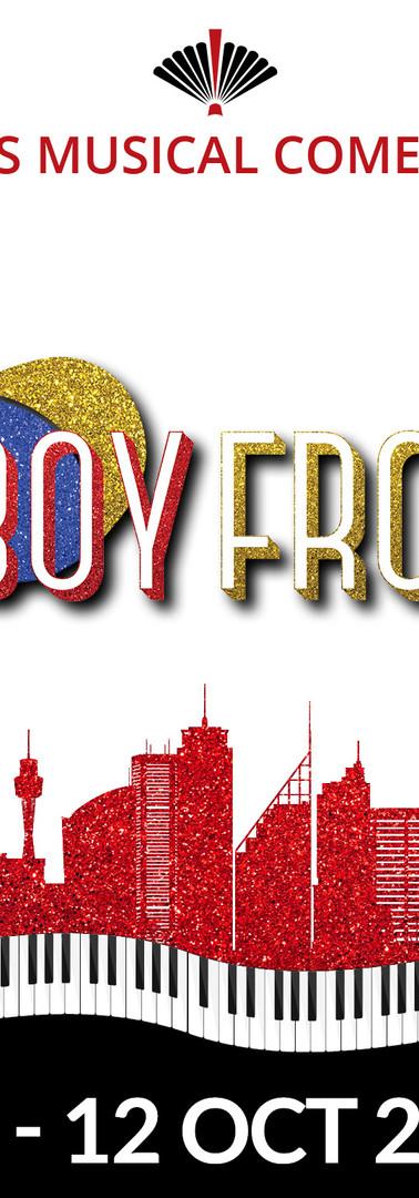 Savoyards | The Boy From Oz Digital Banner