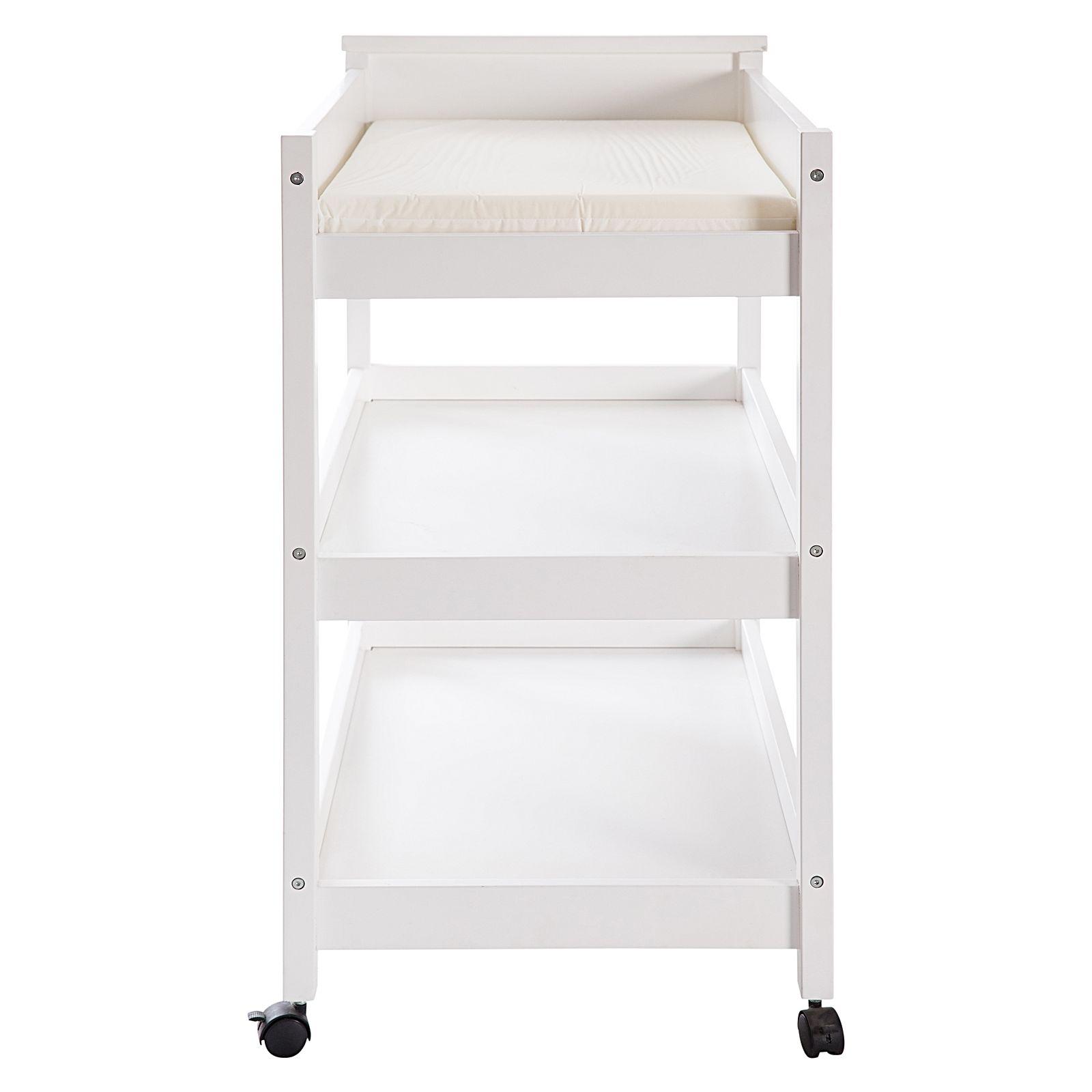 Tiburon Change Table | White