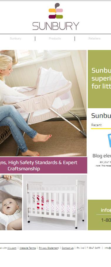 Sunbury Furniture | Website Homepage