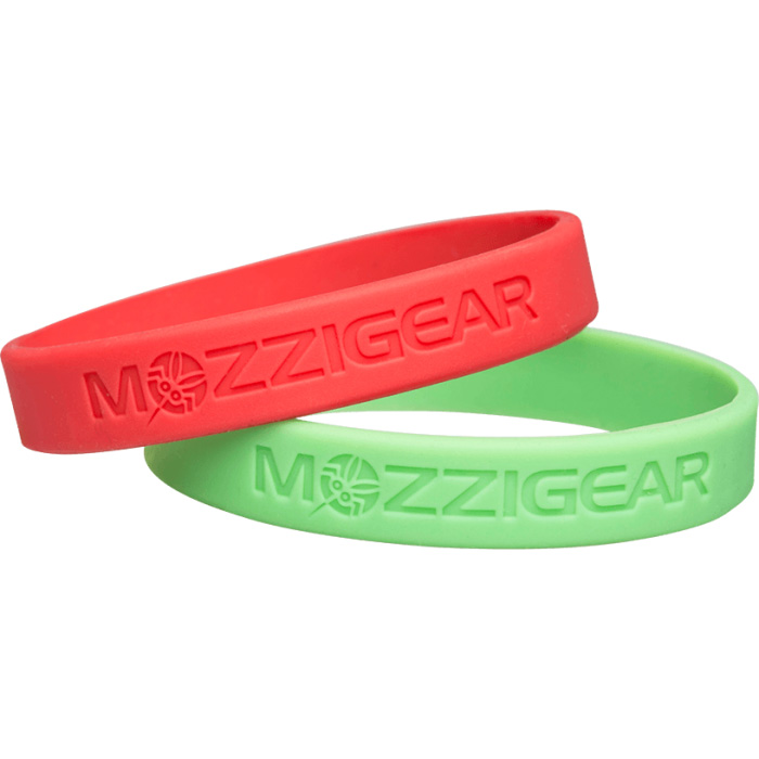 Mozzigear Child Band | Red & Green