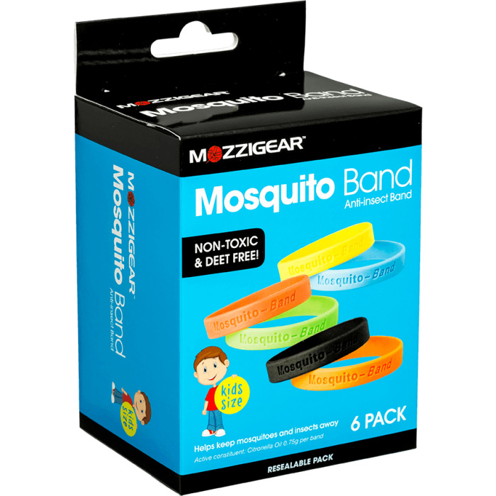 Mozzigear Child Bands | Value 6 Pack