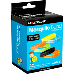 Mozzigear Child Bands | Value 6 Pack
