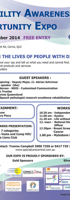 SpecialCare Central | Expo Flyer