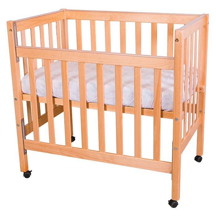 Compact Cot - Side Down | Wood