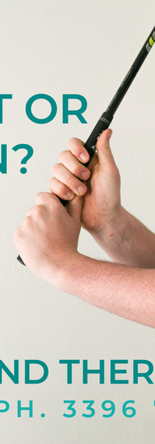 Bayside Hand Therapy | Digital Advert