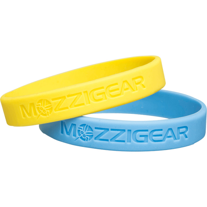 Mozzigear Adult Band | Yellow & Blue