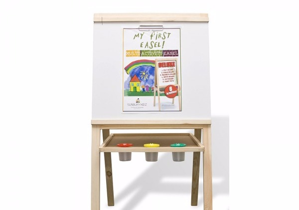 Art Easel With Paper