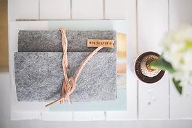 Canva - Grey Felt Journal TO DO LIST on