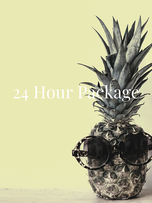 24 Hour Package