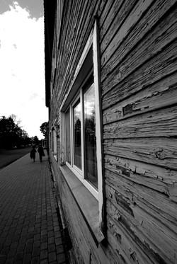 Vytauto gatvės kampas, buvęs mokyklo