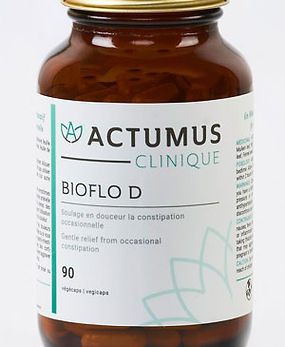BIOFLO D for constipation from Actumus available at Centre optimal du côlon