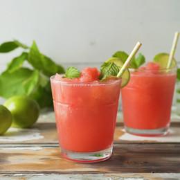 Boozy Watermelon Granita
