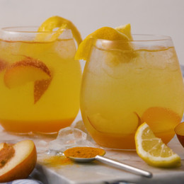 Gin Sunset Cocktail