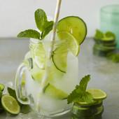 Super Refreshing Cucumber & Lime Vodka Slushie