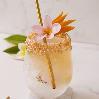 Easy-Breezy Tropical Cocktail