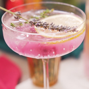 Floral Infusion Gin & Tonic